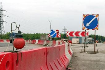 Новую развязку на Ярославском шоссе частично откроют в ноябре