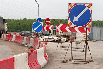 Движение на Ярославском шоссе в Подмосковье ограничили до июля