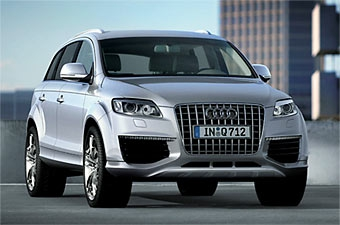 Audi привезет в Париж внедорожник Q7 с 12-цилиндровым турбодизелем