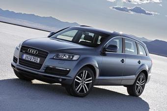 В России начались продажи Audi Q7 с двигателем 3,6 V6