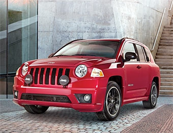 Jeep Compass сделали похожим на ралли-кар