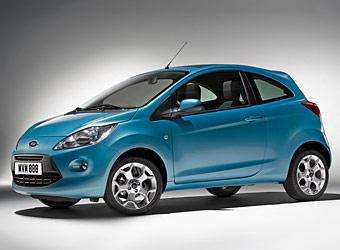 В интернете появилась первая фотография нового Ford Ka