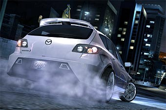 Mazda3 MPS появится в игре Need For Speed Carbon