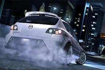 Mazda3 MPS появится в игре Need For Speed Carbon