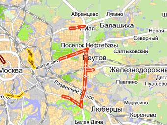 Дачники стали причиной пробок на московских шоссе
