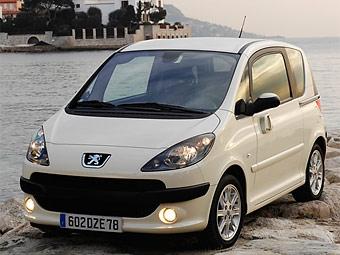 Peugeot снизит объем выпуска модели 1007