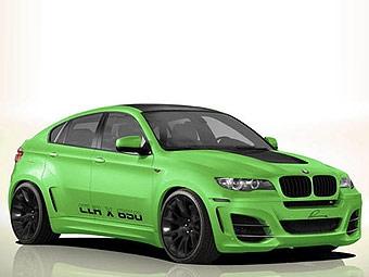 Ателье Lumma показало первое фото собственной версии BMW X6