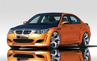 Lumma Design готовит экстремальную версию BMW M5