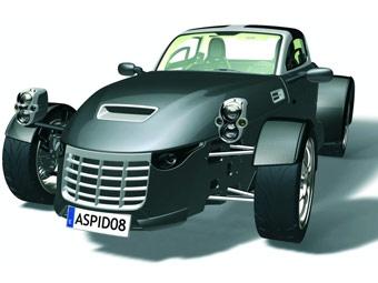 На Лондонском автосалоне дебютирует новый спорткар Aspid