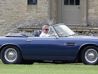Aston Martin принца Чарльза стал ездить на вине