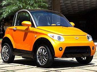 На моторшоу в Лондоне представят новый электромобиль Nice