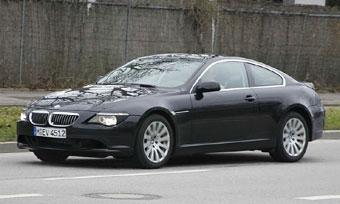 Появились шпионские фотографии обновленной BMW 6-series