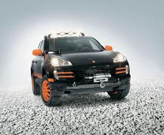 Porsche подготовила Cayenne S для Транссибирского ралли