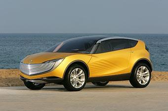 Mazda показала концептуальный кроссовер Hakaze