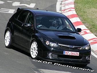Фотошпионы запечатлели самую быструю Subaru Impreza
