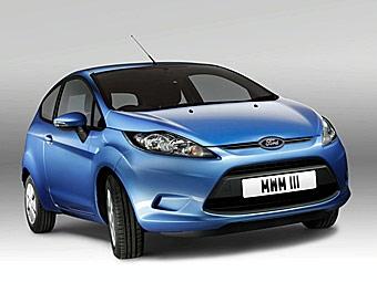 Компания Ford представила экологически чистую версию Fiesta