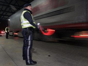 Пьяный белорусский дальнобойщик шокировал полицию Австрии