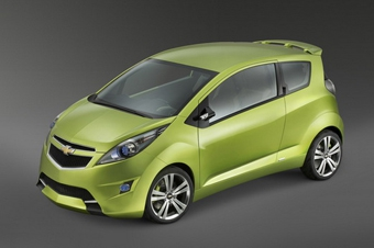 Новая микролитражка Chevrolet Beat появится в 2010 году