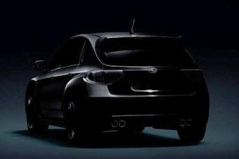 Subaru опубликовала новую фотографию Impreza WRX Sti