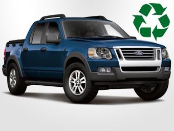 Ford, GM и Chrysler сделают автомобили полностью перерабатываемыми