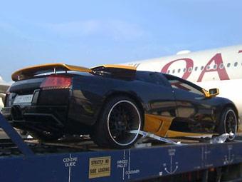 Шейх отправил свой Lamborghini из Катара в Лондон на замену масла