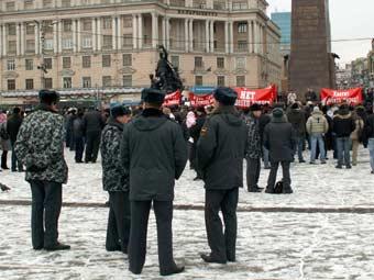 Милиция Приморья переведена на усиленный режим