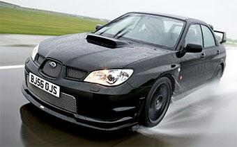 Subaru выпустит специальную версию Impreza в память о Ричарде Бернсе