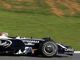 Команда Williams продлила контракт со своими спонсорами