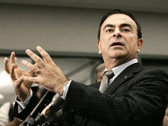 Карлос Гон станет председателем совета директоров Renault