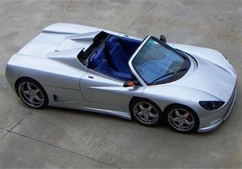 Выпуск шестиколесного суперкара Covini начнется в 2009 году