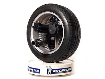 Michelin и MGL разместили подвеску и электромоторы внутри колеса