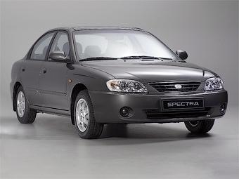 Ижевский завод выпустил 100-тысячный автомобиль Kia Spectra