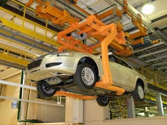 В ноябре производство легковых автомобилей в РФ снизилось на четверть