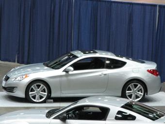 В интернете появились шпионские фотографии нового купе Hyundai