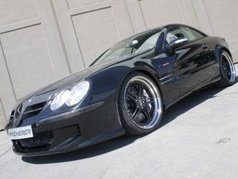 """В Германии сделали еще один """"тюнинговый"""" Mercedes SL600"""