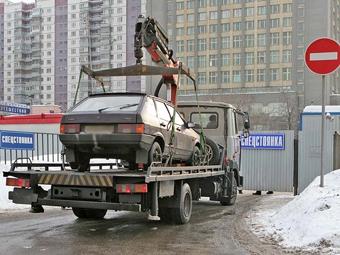 В Москве появилась новая штрафстоянка
