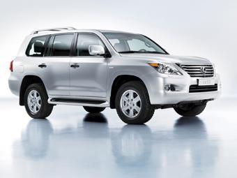 В Москве состоялась российская премьера нового Lexus LX 570