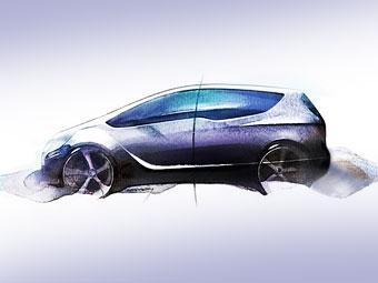 В Женеве Opel представит прототип следующего поколения Meriva