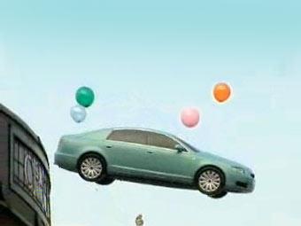 Ford запустит в небо старые автомобили на финале Лиги чемпионов