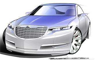 Chrysler готовит четырехдверное купе