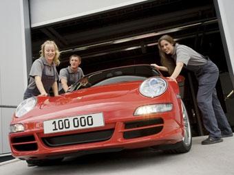 В Германии выпустили стотысячный Porsche 911