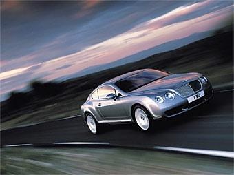 Bentley Continental GT готовится к рестайлингу