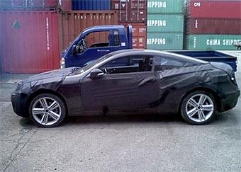 Новое купе Hyundai приступило к тестам