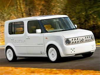 Nissan привезет в Нью-Йорк электрический Cube