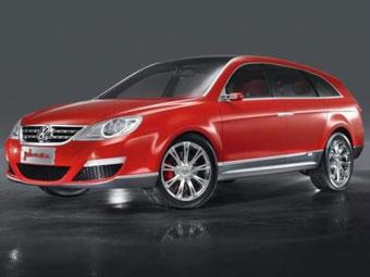 VW хочет выпускать в Китае новый внедорожник