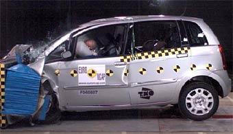 Модели Nissan и Fiat прошли краш-тесты EuroNCAP