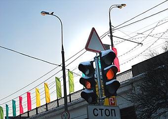 Московские светофоры оснащают генераторами