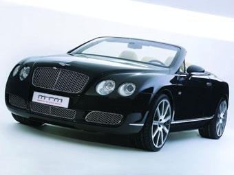 Ателье MTM доработало кабриолет Bentley Continental GTC
