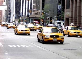 Все нью-йоркские такси станут мультимедийными