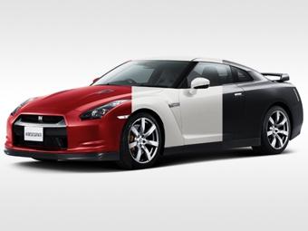 Цвет автомобиля можно будет поменять за секунду